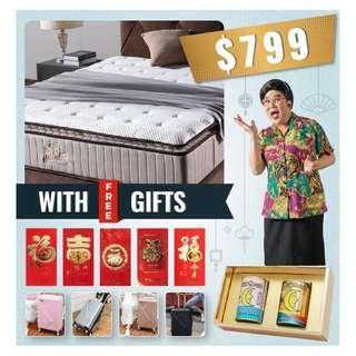 Chinese New Year Mattress promotion,call 88668884