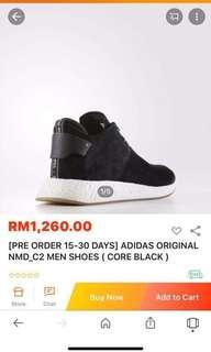 Sales!!! ADIDAS Men Sport Shoes - Limited Edition