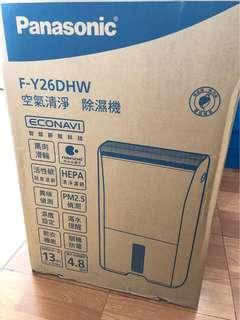 Panasonic國際牌空氣清淨&除濕機