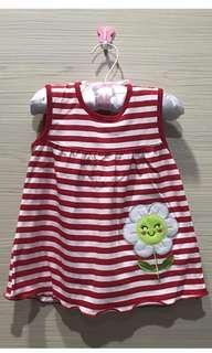 Dress lucu baby girl usia 3 bulan - 1 tahun new (NETT)