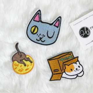 🚚 Iron On Patch | Cat Series 01