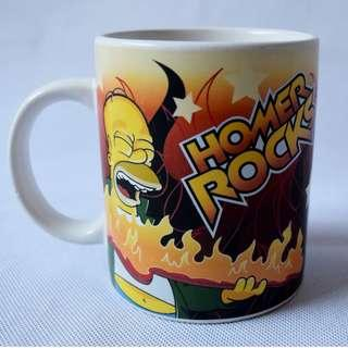 Homer Rocks Mug The Simpsons 20th Century Fox