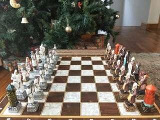 Ottomans vs Crusaders Chess Set (from Turkey)