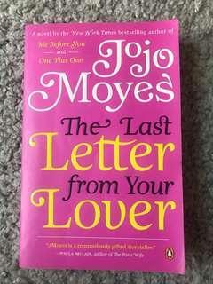 The Last Letter from your lover jojo moyes