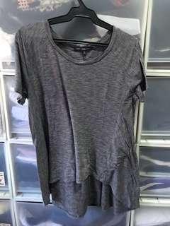 Gray Hi Low T Shirt