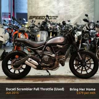 Ducati Scrambler Full Throttle (Used 2015)