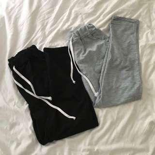 drawstring sweat pants