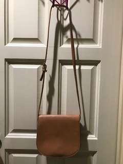 PU leather shoulder sling bag