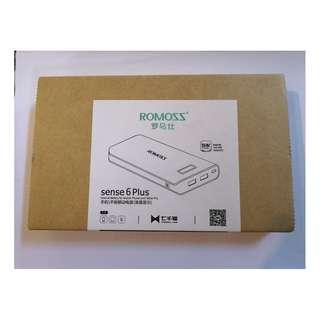 Romoss sense 6 plus Power Bank 20000 mAh (White)