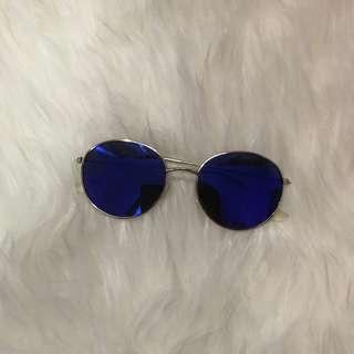 [REPRICED] Blue elvis sunglasses