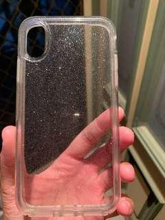 iPhone XS otter box sparkly case (great condition)