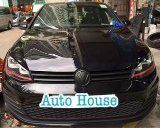 #VW #轆沙板前輪一對 預約服務請電:31739102 Auto House Service LtdHK