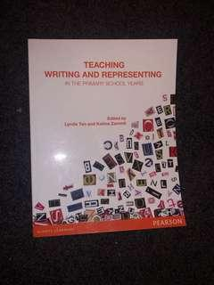 Teaching writing and representing in the primary school years