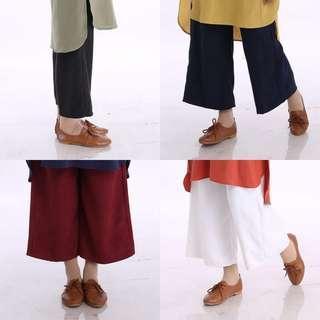 ARA FLARED PANTS seluar plazzo baju araa peplum top blouse dress abayah abaya jubbah jubah