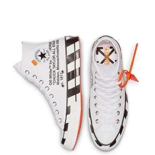 2bf783456ad2 Off-White x Converse Chuck Hi 70s White