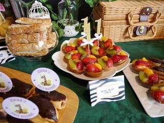 Blissful Package (Pastries for Dessert Tables)
