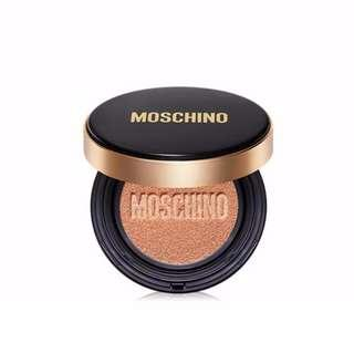 AUTHENTIC MOSCHINO X TONY MOLY Chic Skin Cushion + Refill #02ChicBeige