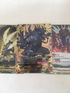 *RARE* buddyfight hundred demons secret pack