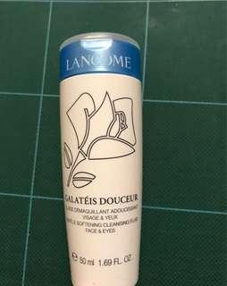 Lancôme gentle softening cleansing fluid face & eyes