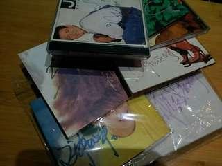 多位明星簽名 CD