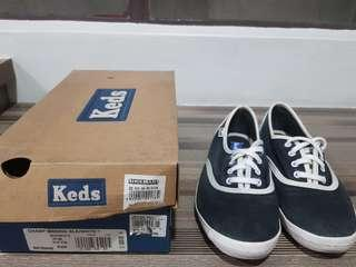 Keds Champs in Blck/White