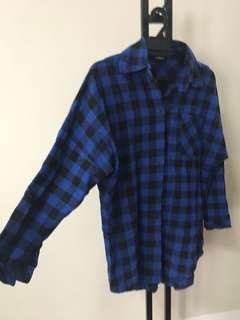 Ana Abu Baggy Flannel Shirt