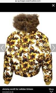 Adidas Jeremy Scott winter jacket