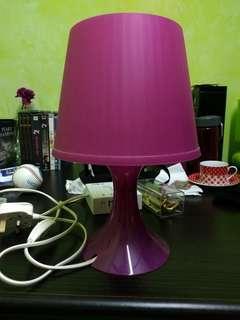 Ikea Lamp (Pink)