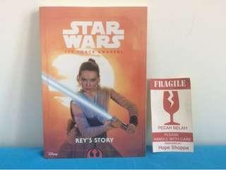 Buku Import Star Wars The Force Awakens Rey's Story Imported Book New And Sealed