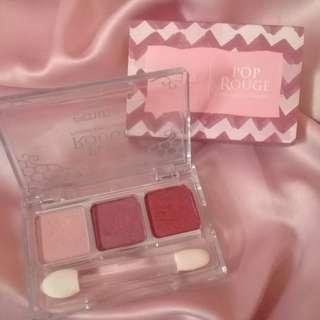 Preloved Emina Pop Rouge Pressed Eyeshadow - Posh