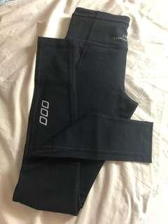 Lorna Jane xs Black full length gym tights leggings worn a few times excellent condition
