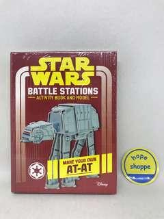Buku Import Star Wars Battle Stations Activity Book and Model Imported New and Sealed