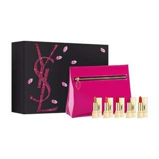 AUTHENTIC YSL Miniature Rouge Pur Couture Lip Set