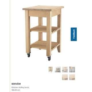 Ikea BEKVAM Trolley