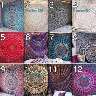 Mandala Tapestry Queen Size INSTOCK