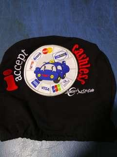 City Cab Seat Head Cover