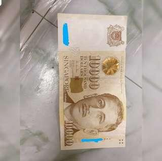 $10,000 SGD Note