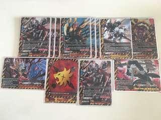 Buddyfight danger world armorknight/weapon deck