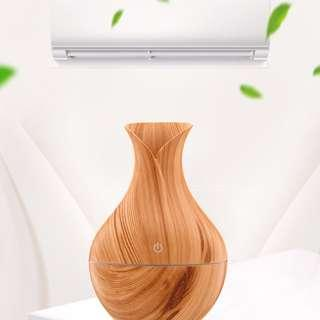 Light Brown Wooden Humidifier