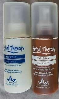 🚚 Scalp care therapy Hair tonic 1 & 2 (1 set)💆 ( love yr hair, love yrself)