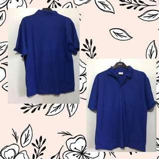 Plain Blue Polo