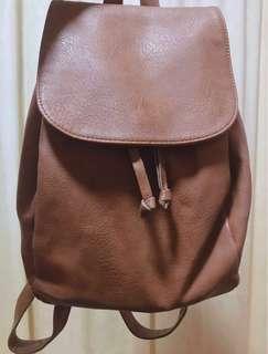 Forever21 Brown Backpack