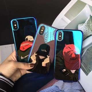 🚚 Supreme soft case for IPhone