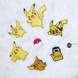 🚚 Iron On Patch | Pikachu Series