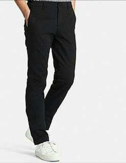 *CLEARANCE*uniqlo stretch Black Chino/jeans