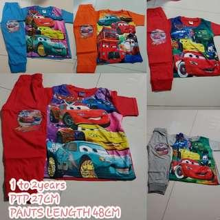 INSTOCK Mc Queen Cars Pyjamas set kids n toddler's