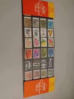 英國郵票 1976年 full year pack
