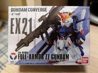 Gundam Converge ex 21 fw 食玩 sp 高達 扭蛋 zz Gundam