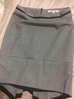 Review skirt n jacket