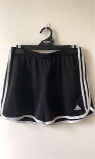 Adidas womens running shorts medium